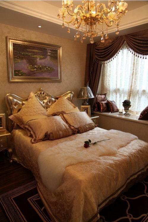 欧式风格样板房布兰卡供稿案例图片: 主卧